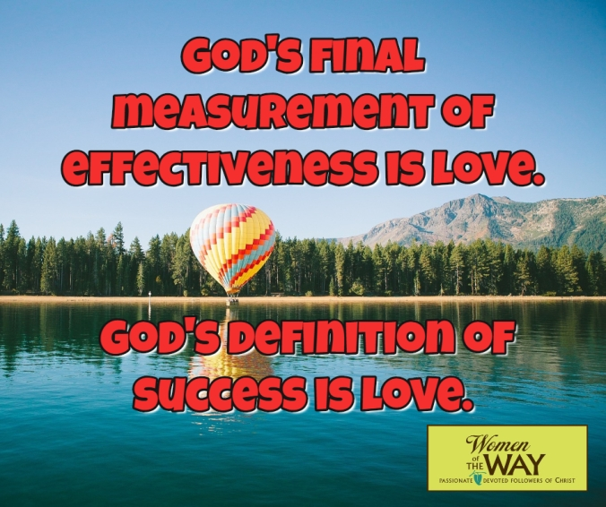 God'smeasurementislove